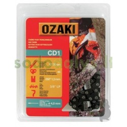 "Grandinė OZAKI 3/8""LP .050"" (1,3mm)  44 links"
