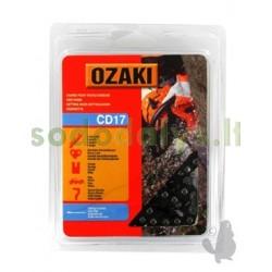 """Grandinė OZAKI 3/8"""" .063"""" (1,6mm)  72 nareliai"""