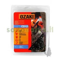 """Grandinė OZAKI 3/8"""" .058"""" (1,5mm) 68 nareliai"""