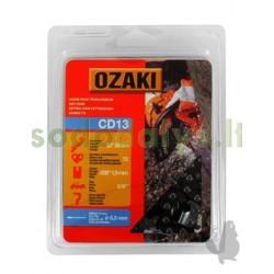 """Grandinė OZAKI 3/8"""" .058"""" (1,5mm) 72 nareliai"""