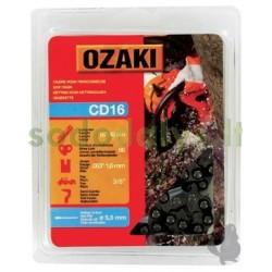 """Grandinė OZAKI 3/8"""" .063"""" (1,6mm) 66 nareliai"""